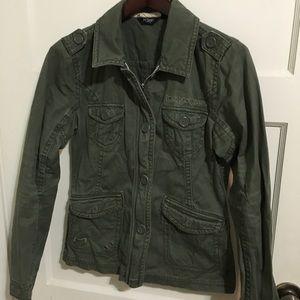 Fox green jacket